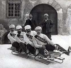 Бобслей, 1910 год