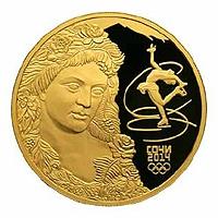 Памятная монета из золота номиналом 1000 рублей