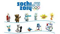 Олимпиада в Сочи, обои для рабочего стола - Персонажи