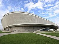 Адлер-арена вид спереди