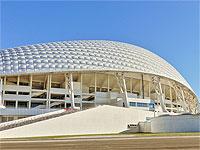 Олимпийский стадион Фишт центральный вход