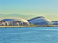 Олимпийский стадион Фишт с моря