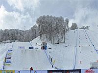 Экстрим-Парк Роза Хутор горнолыжные трассы