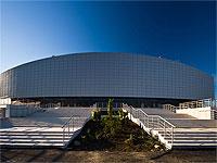 Кёрлинговый центр Ледяной куб центральная лестница