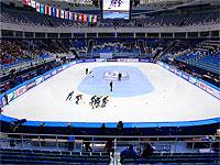 Дворец зимнего спорта Айсберг соревнования