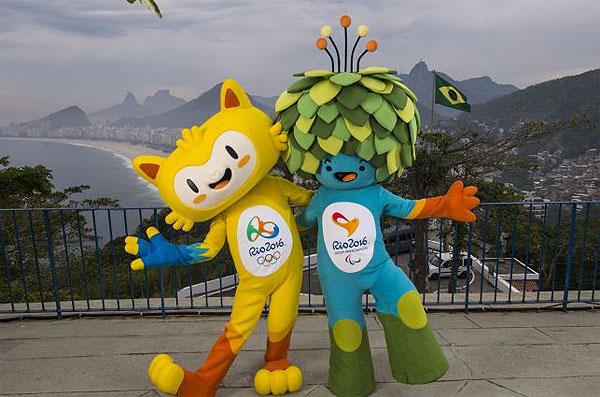 Талисманы предстоящих олимпийских игр в Рио