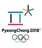 Эмблема олимпиады в Пхёнчханге 2018